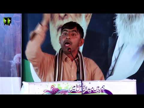 [Wilayat-e-Haq Convention 2018] Manqabat: Br. Intizar | Asgharia Org. Pak - Sindhi