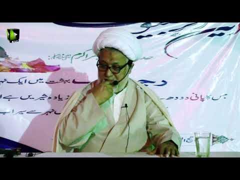 Topic : Wilayat-e-Faqihi   Speech :  H.I Moulana Ghulam Abbas Raesi - 30 March 2018 - Urdu