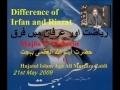 21May09 Part 2 رياضت اور عرفان Irfan and Riazat - Ayatollah Behjat by HI Ali Murtaza Zaidi - Urdu