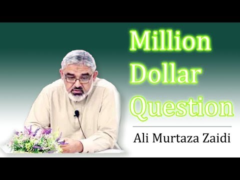[Clip] Million Dollar Question by Agha Ali Murtaza Zaidi   Preparation for Imam Mahdi A.S Urdu
