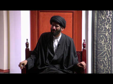 [4] Topic: Connect with the Mission/Revolution of Imam Hussain(A) | H.I. Sulayman Abidi | English