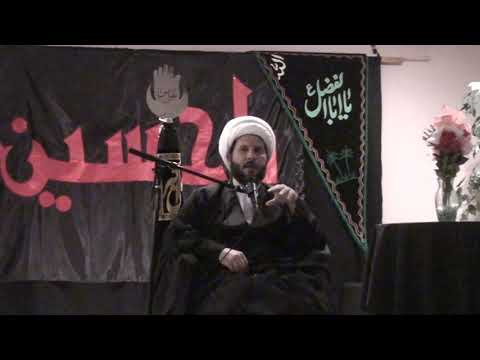 Muharram 1440 Night 3 - H.I. Sheikh Hamza Sodagar - Zainab Center Seattle WA - English