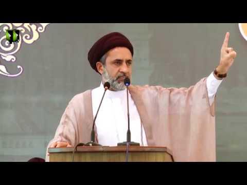 [Youm e Mustafa (saww)] Speech: H.I Muhammad Haider Naqvi | University of Karachi - Urdu