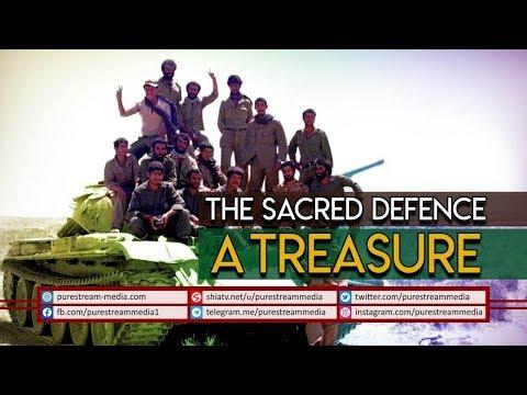 The Sacred Defence: A Treasure | Leader of the Islamic Revolution | Farsi Sub English