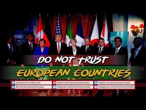 Do Not Trust European Countries   Leader of the Islamic Revolution   Farsi Sub English