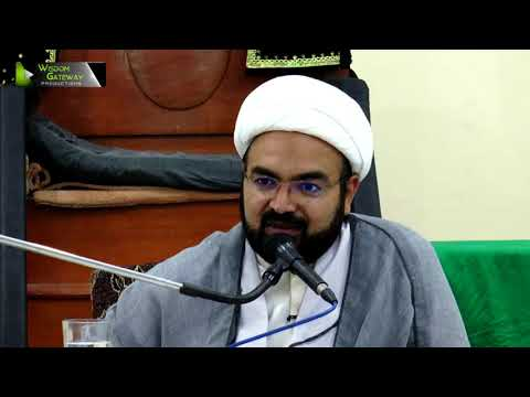 [Lecture 4] Topic:  انتظار اور وظائف منتظرین    H.I Ali Asghar Saifi - Urdu