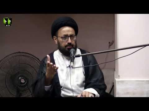[Majlis] Topic: روحِ ولایت و غدیر،  تسلیم و اطاعت | H.I Sadiq Raza Taqvi - Urdu