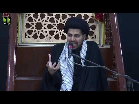 [04] Topic: Nusrat-e-Imam Hussain (as) | Moulana Haider Ali Jafri | Muharram 1441/2019 - Urdu