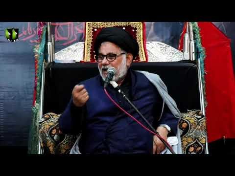 [02] Topic: Marjaeyat , Masomeen (as) ke Nigah May | H.I Hasan Zafar Naqvi | Muharram 1441/2019 - Urdu