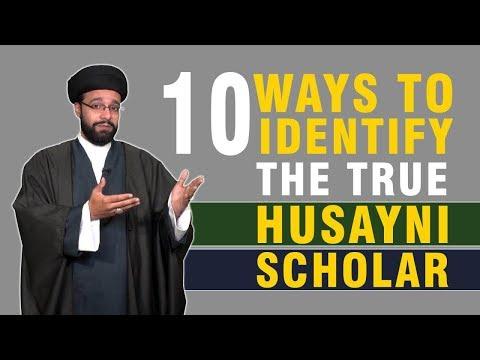 10 Ways to Identify the True Husayni Scholars | CubeSync | English