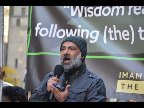 Moulana Hassan Mujtaba Rizvi - Arbaeen Walk Toronto Oct  20, 2019 - English