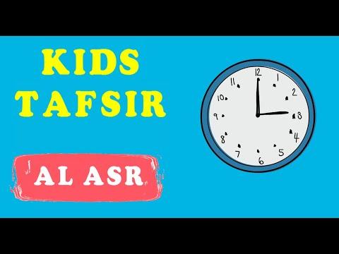 NEW SERIES !!  Quran Tafsir for Kids - SURAT AL ASR