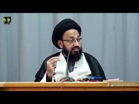 [Lecture] Life Planning & its Benefits   H.I Sadiq Raza Taqvi - Urdu