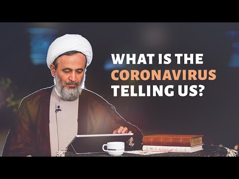 What is the Coronavirus telling us   Ali Reza Panahian Farsi sub English