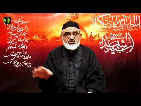[5] Shahadat-e-Imam Hussain (as) Or Islami Saqafat Ka Aheya | H.I Ali Murtaza Zaidi | Muharram 1442 | Urdu