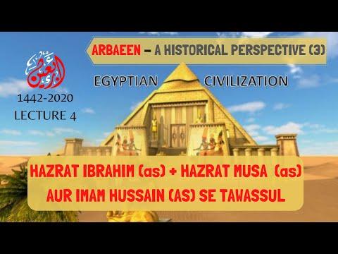 [4] Arbaeen Se Zuhoor Tak | Hazrat Ibrahim (as) Aur Imam Hussain (as) Se Tawassul | Arbaeen 1442-2020 -