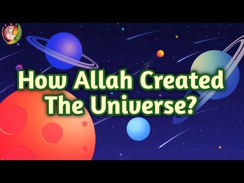 How Allah Created The Universe | Kids Islamic Stories | Muslim | Kaz School | English