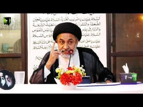 [Shab -e- Dua]  Speech: H.I Muhammad Haider Naqvi   17 April 2021   Urdu