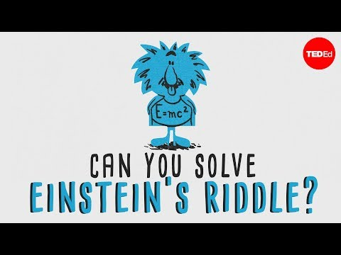 """Can You Solve \""""Einstein'S Riddle\""""? - Dan Van Der Vieren   English"""