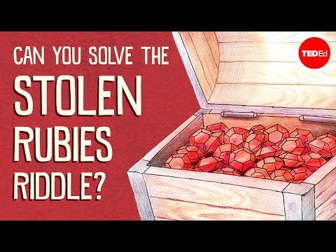 Can you solve the stolen rubies riddle? - Dennis Shasha - English