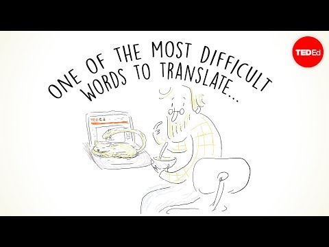 One of the most difficult words to translate... - Krystian Aparta - English