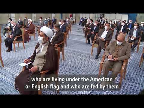 Iran's recent elections were truly an epic created by the people   Imam Khamenei - Farsi - Subs Eng