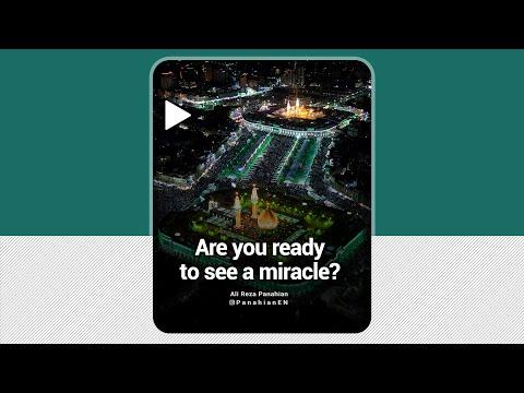 [Clip] Are you ready to see a miracle | Agha Ali Reza Panahian | Farsi sub English