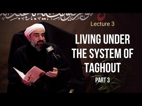 Lecture 3 | Topic: Living under the system of Taghout - Sh. Farrokh Sekaleshfar Muharram1443,2021 English