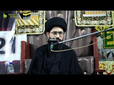 [3] Sifaat -e- Ahlebait (as)   Moulana Syed Farrukh Abbas Rizvi   Muharram 1443/2021   Urdu
