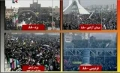 Look at the massive turn out on Islamic Revolution Birthday - 11Feb10 - Farsi