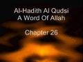 Al Hadith Al Qudsi Chapter 26 - English