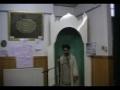 Islamic Revolution and Itekaf Khotbae Joma - 13 Rajab 2010 - Urdu