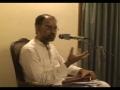 **MUST WATCH SERIES** Mauzuee Tafseer e Quran - Insaan Shanasi - Part 23b - 03-Oct-10 - Urdu