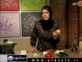 Cooking Video - Kookoo Sibzamini & Shirazi Salad - English