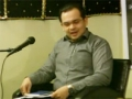 Aware of the World Around Us - A Lecture by Syed Waqar Rizvi - Jan2012 - English