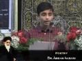 [Imam Khomeini Event 2012] Dearborn, MI USA - Poetry by Br. Abbas Akbari - English