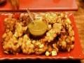 Onion, Potato, & Mushroom Fritters - English