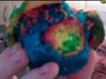 How to make Rainbow Cupcakes - English