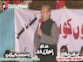 [12 Jan 2013] Karachi Dharna - Speech Arif Alvi - Pakistan Tehreek Insaaf - Urdu