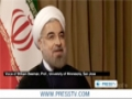 [09 Oct 2013] Rouhani deserves serious consideration for Nobel: Beeman - English
