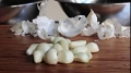 Ultimate Garlic Peeling Trick -- How to Peel 20 Cloves in 20 Seconds! English