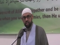 Speech by Sheikh Jaffar - Muslim Unity Seminar - English