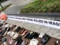 17th Dec08-Veterans Shoe Protest Over Iraq War at White House- English